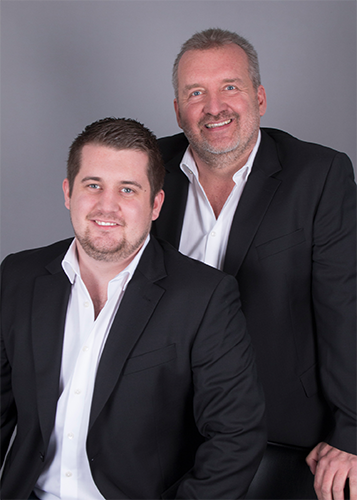 Bild Michael und Robert Zellerer von der Continentale Zellerer Versicherung